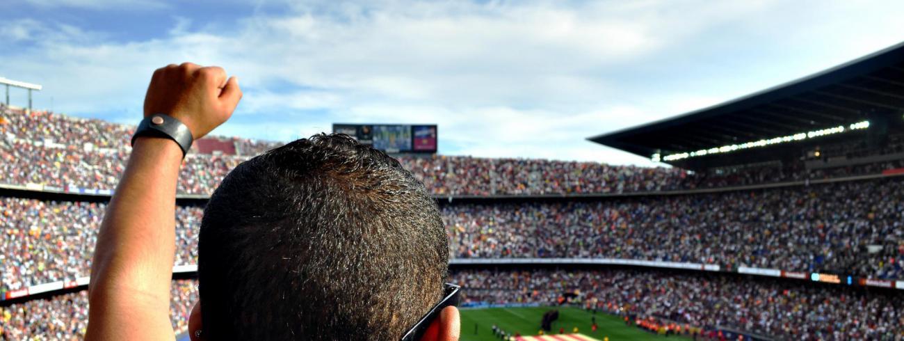 Kerk en voetbal, meer gemeen dan je op het eerst zicht denkt. © CC Pexels