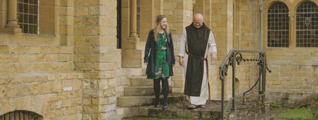 Bisschop Lode en Alicja © VRT