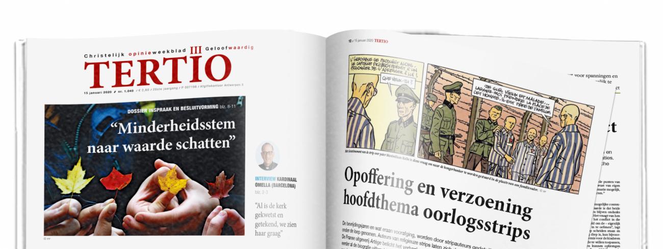 Cover Tertio nr. 1.040 van 15 januari 2020. © Tertio