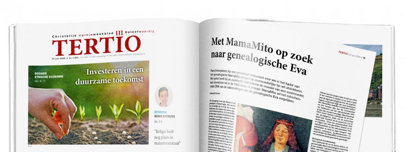 Tertio nr. 1.063 van 24 juni 2020. © Tertio