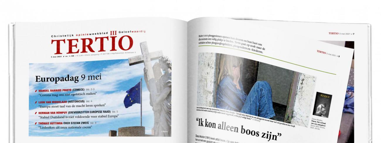 Cover Tertio nr. 1.108 van 5 mei 2021. © Tertio