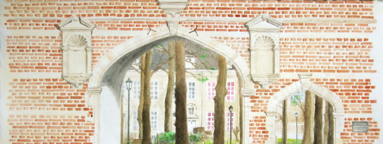 Weterpoort abdij Vlierbeek © Rudi Thomassen
