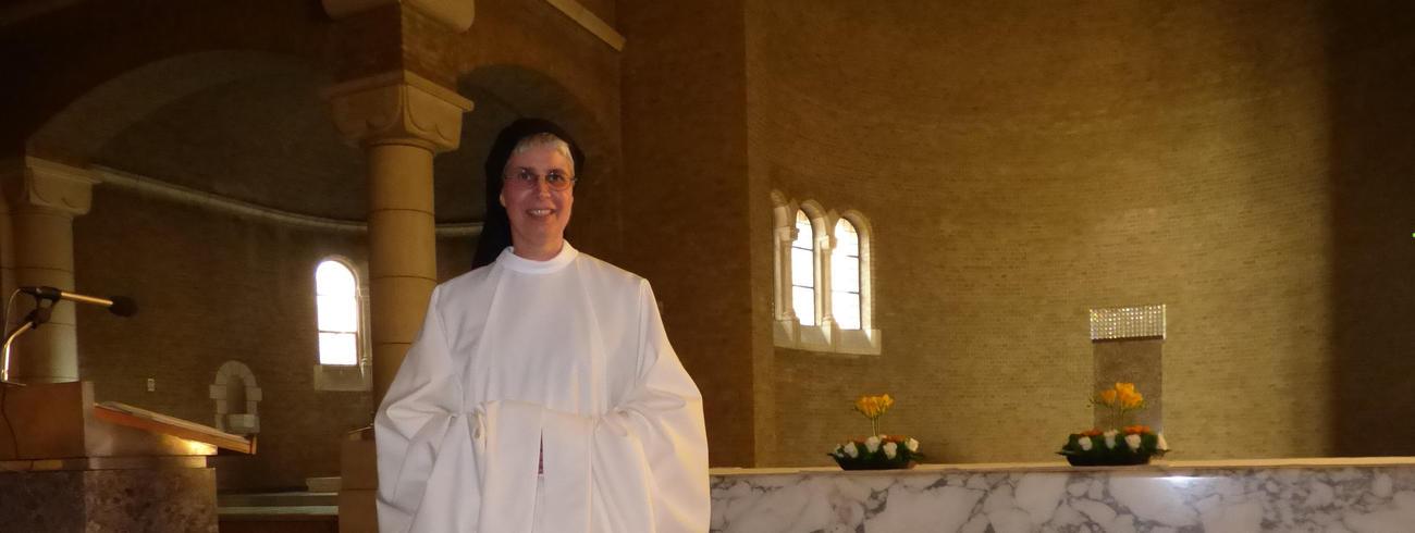 Zr. Anna de Poorter, abdij van Onze Lieve Vrouw van Nazareth te Brecht