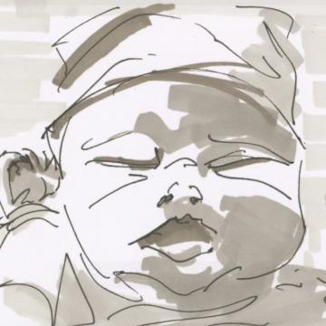 Videostill 'Babyblues' © Koen Van Loocke