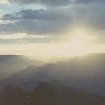 Videostill 'Zonsopgang in New Mexico' © Koen Van Loocke