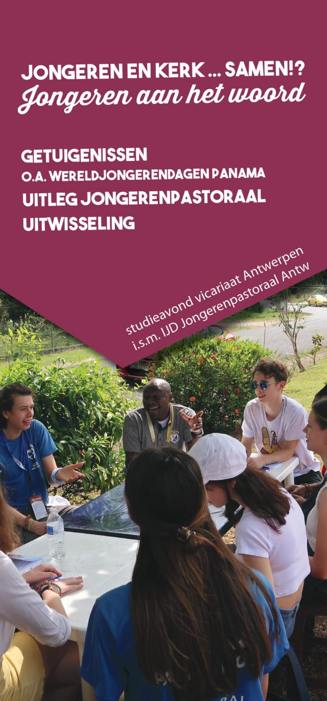 Studieavond - Jongeren & Kerk