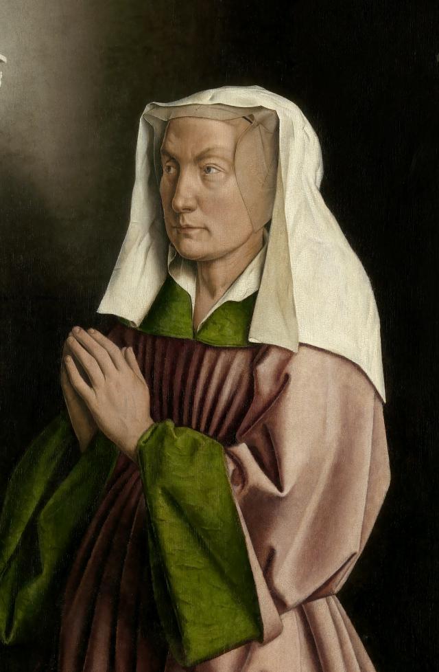 Elisabet Borluut © Sint-Baafskathedraal - www.lukasweb.be - Art in Flanders vzw.