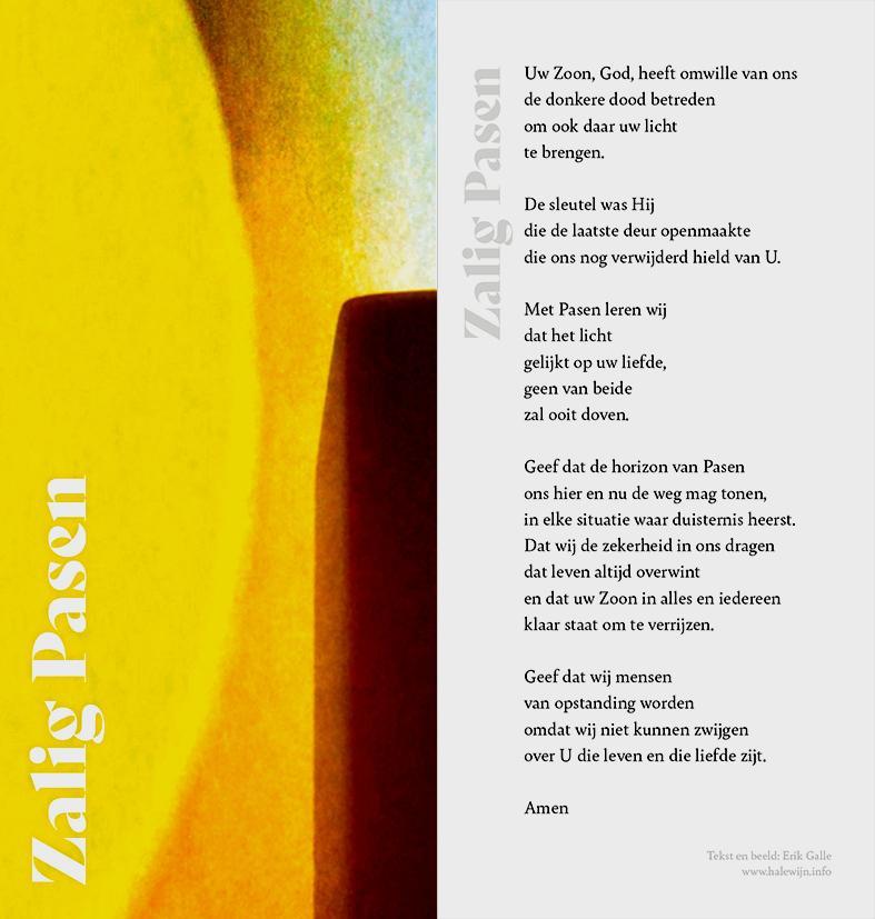 paaskaartje 2020 Kerk & Leven