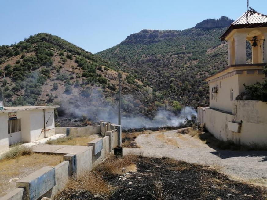 Met zijn bombardementen heeft Turkije van enkele christelijke dorpen in Noord-Irak spookdorpen gemaakt © RR