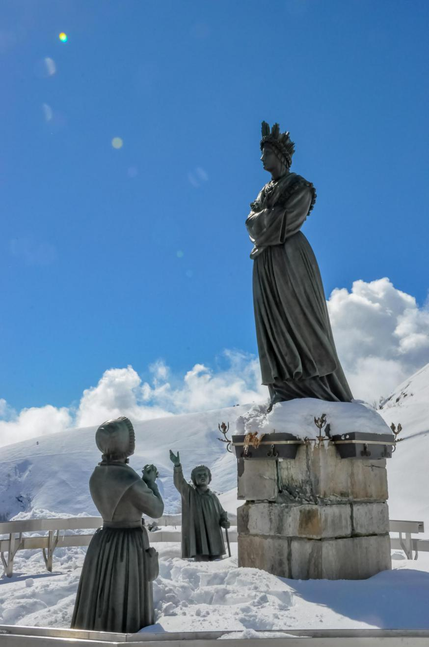 Onze Lieve Vrouw van La Salette © Sanctuaire de Notre Dame de La Salette