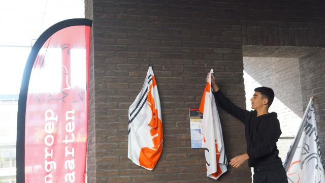 Herdenking Holocaust Sint-Maarteninstituut Aalst