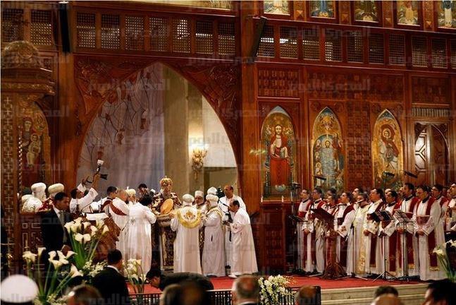 De inhuldiging van de kerk van de Libische martelaren door bisschop Befnosios van de eparchie Salamut in februari vorig jaar  © RR