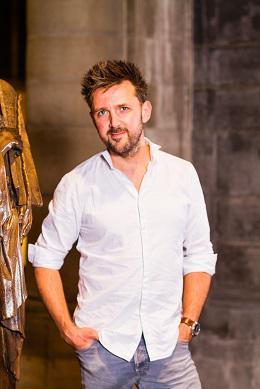 Stefan Van Guyse is de regisseur van De Passie 2020. © De Passie 2020