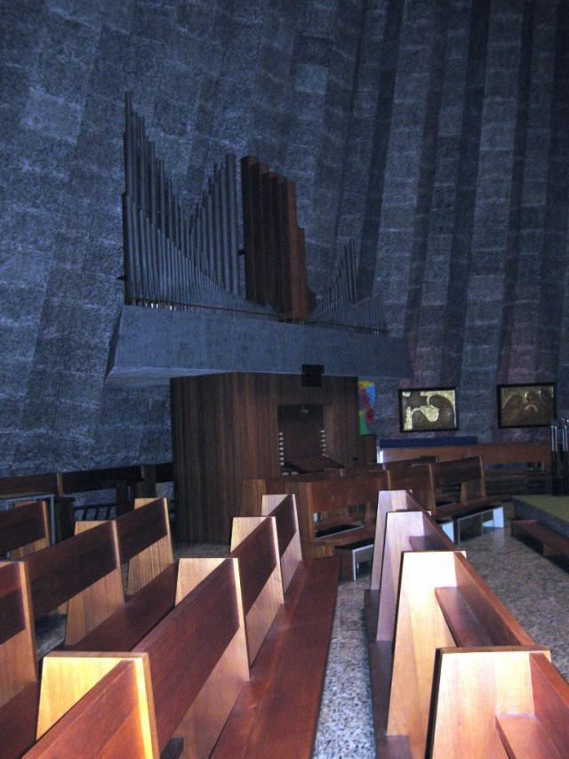 De Sint-Ritakerk in Harelbeke - interieur © Vlaamse Gemeenschap