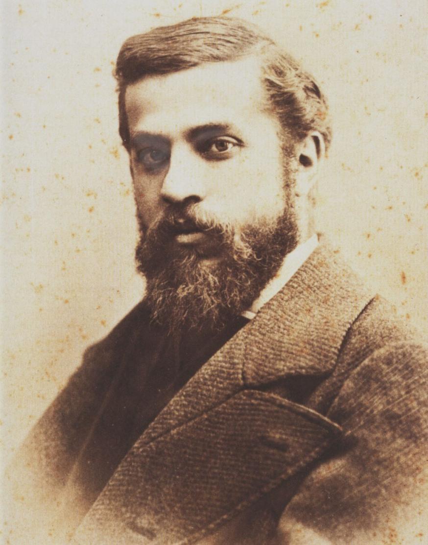 Antoni Gaudí © Pablo Audouard Deglaire (1856 - 1919), Public domain, via Wikimedia Commons