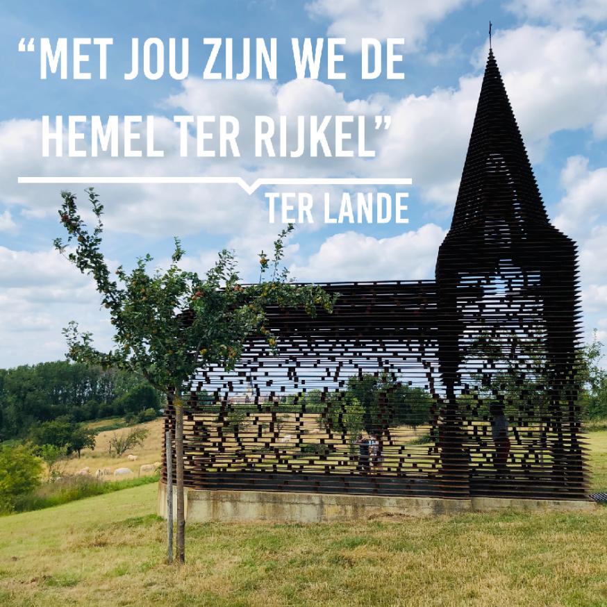 Genieten van het glooiend Loonse landschap, midden in Haspengouw... dàt is Ter Lande. Ter Rijkel!