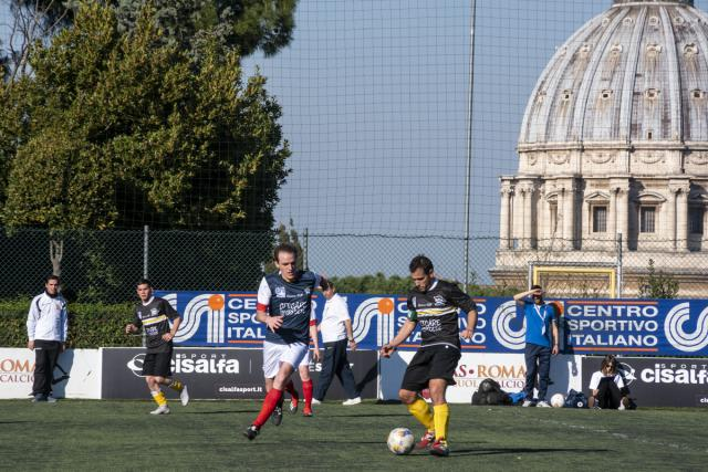 Clericuscup in Rome.