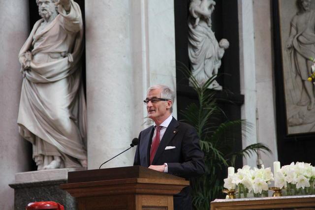 Minister-president Geert Bourgeois © Bisdom Gent, foto: Isolde Ruelens
