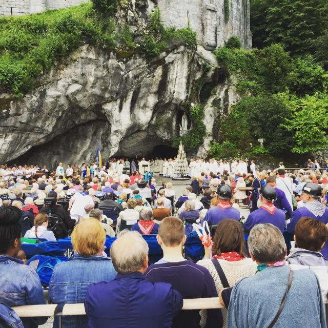 Het was heerlijk vieren tijdens de Lourdesbedevaart