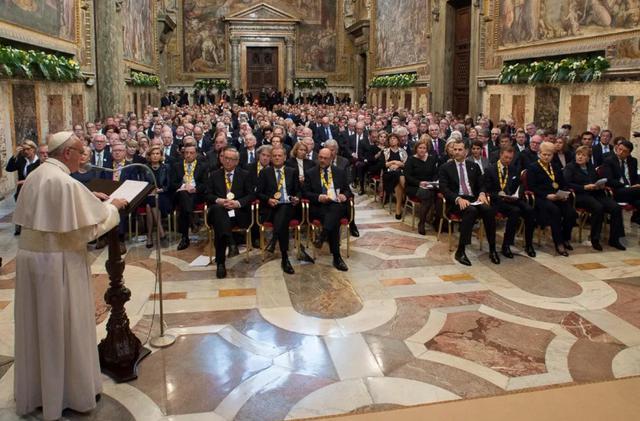 De toespraak van de paus © SIR/Marco Calvarese