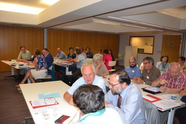 Zaalgesprek op het IPB-Forum in Brussel © IPB
