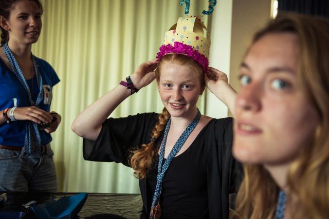 Verrassing voor jarige pluskamper uit de leefgroep
