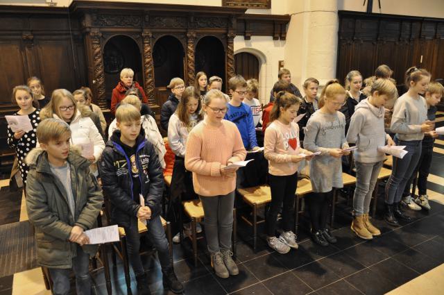 2 december 2018 - Eerste zondag van de Advent - Zomergem © Parochie in Lovendegem, Waarschoot en Zomergem
