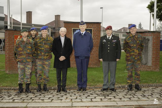 Bezoek aan de kazerne Generaal Baron Duquoy te Doornik © Johan Van Den Eeckhout