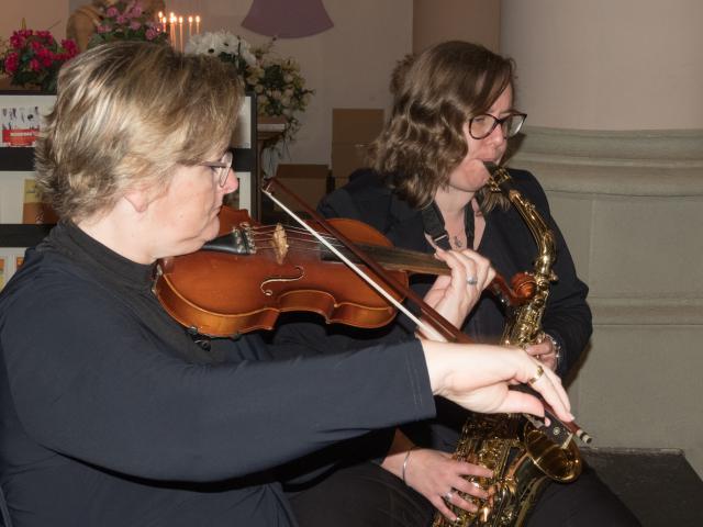 Enkele muzikanten © Parochie Sint-Martinus Retie