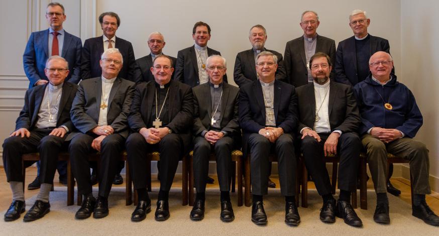 De Bisschoppenconferentie van België © Hellen Mardaga