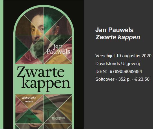 Cover van het boek van Jan Pauwels © BL