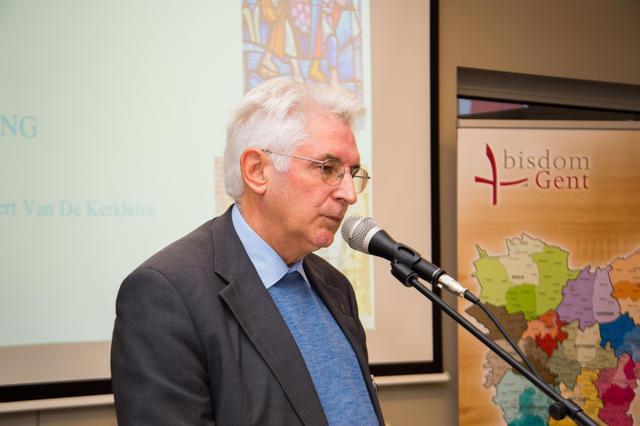 Vicaris Albert Van De Kerkhove © Bisdom Gent, foto: Karel Van de Voorde