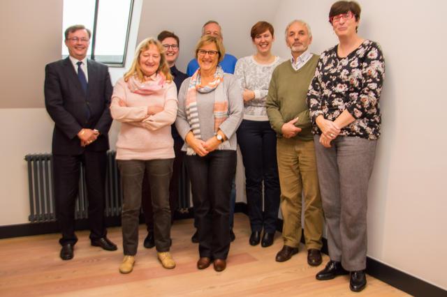 De administratieve medewerkers in de nieuwe dekenaten © Bisdom Gent, foto: Karel Van de Voorde
