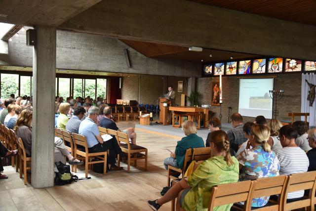 Heel veel aandacht tijdens de lezing van Joris Polfliet. © PDL