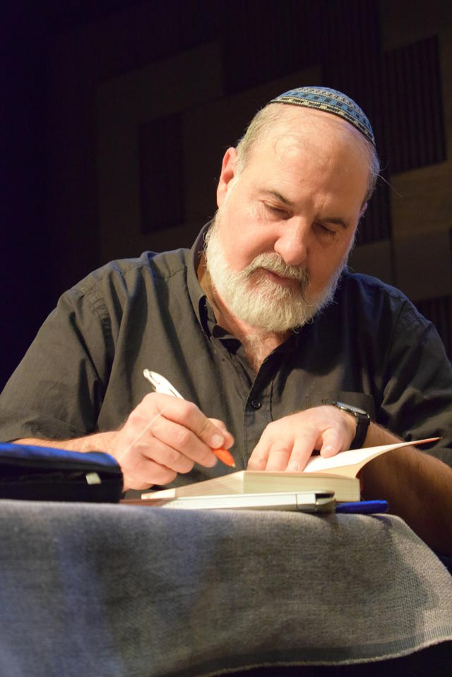 rabbijn Marc-Alain Ouaknin © Inge Cordemans