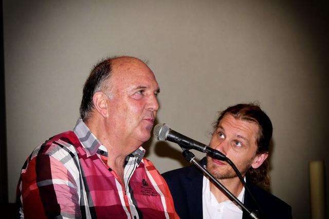 Adrie Oosterling en Jozef Sercu brachten een muzikale evocatie © Lode Caes