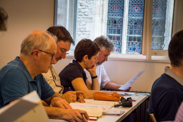 Brugse collega's Virginie en Piet © Bisdom Gent, foto: Karel Van de Voorde