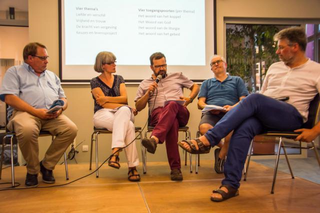 Panel © Bisdom Gent, foto: Karel Van de Voorde