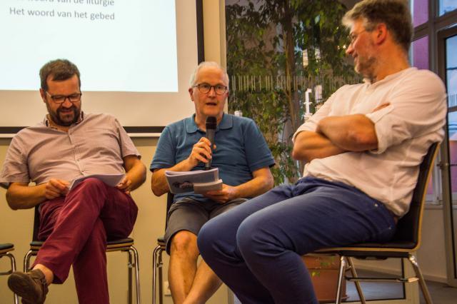 Ruggero Donadoni en Piet Raes © Bisdom Gent, foto: Karel Van de Voorde