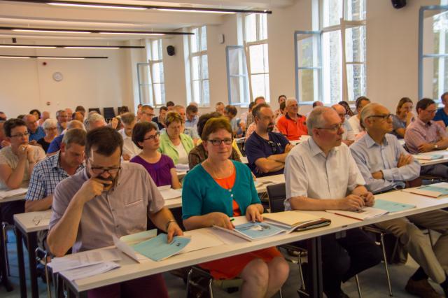 Deelnemers © Bisdom Gent, foto: Karel Van de Voorde