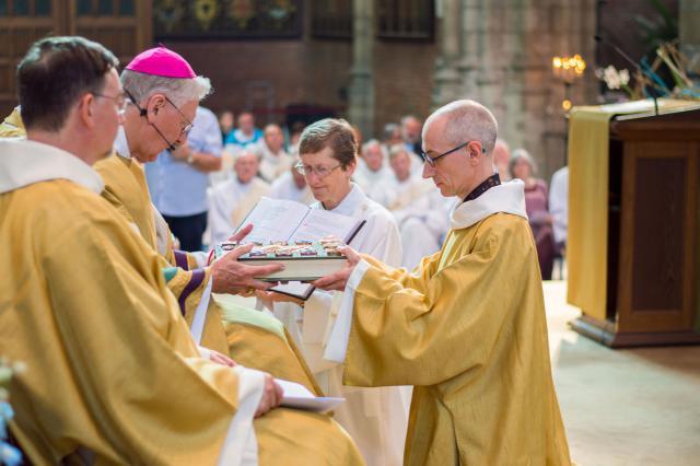 Diakenwijding 2017 © Bisdom Gent, foto: Karel Van de Voorde
