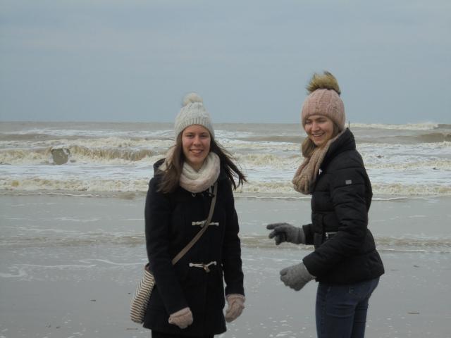 samen op weekend naar de zee