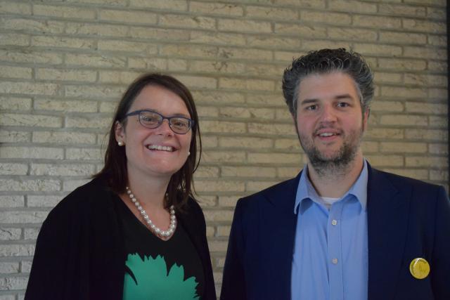 Liselotte Anckaert en Tim Vanmechelen staan altijd klaar om lokale medewerkers te ondersteunen © Inge Cordemans