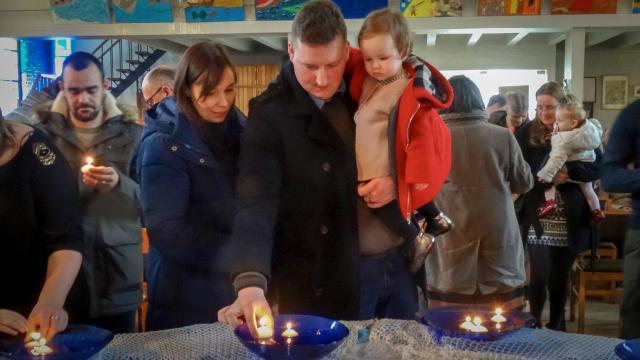 Lichtmis en kinderzegen op Ten Bos (HopParochie)