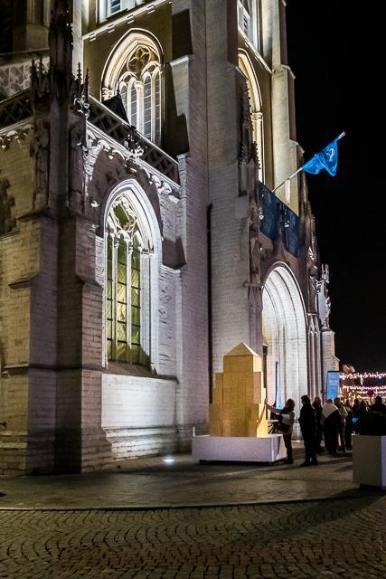Houten blokkerk naar een ontwerp van Hugo Duchateau. © Trudofederatie