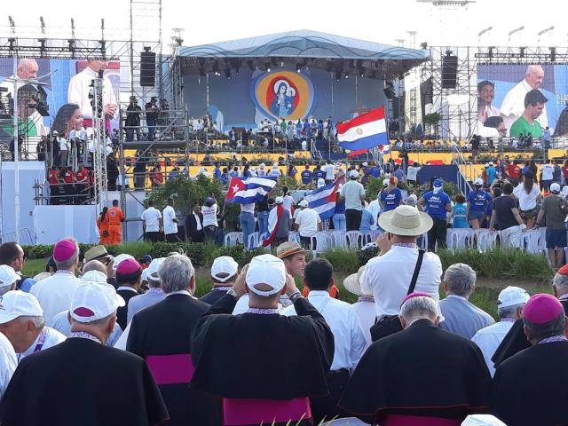 Bisschoppen op de ontmoeting met paus Franciscus © Mgr. Johan Bonny