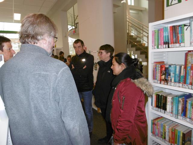 12 maart bibliotheek Evergem © parochie in Assenede-Evergem-Zelzate