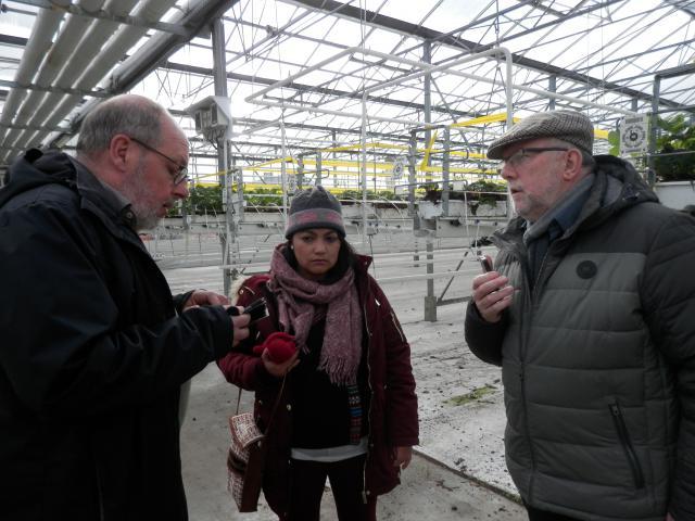 woensdag 13 maart - rondleiding aardbeienbedrijf © parochie in Assenede-Evergem-Zelzate