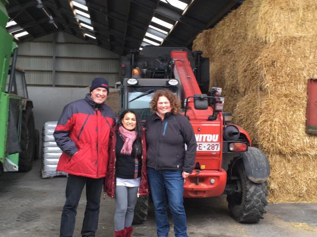 16 maart rondleiding melkveebedrijf © parochie in Assenede-Evergem-Zelzate