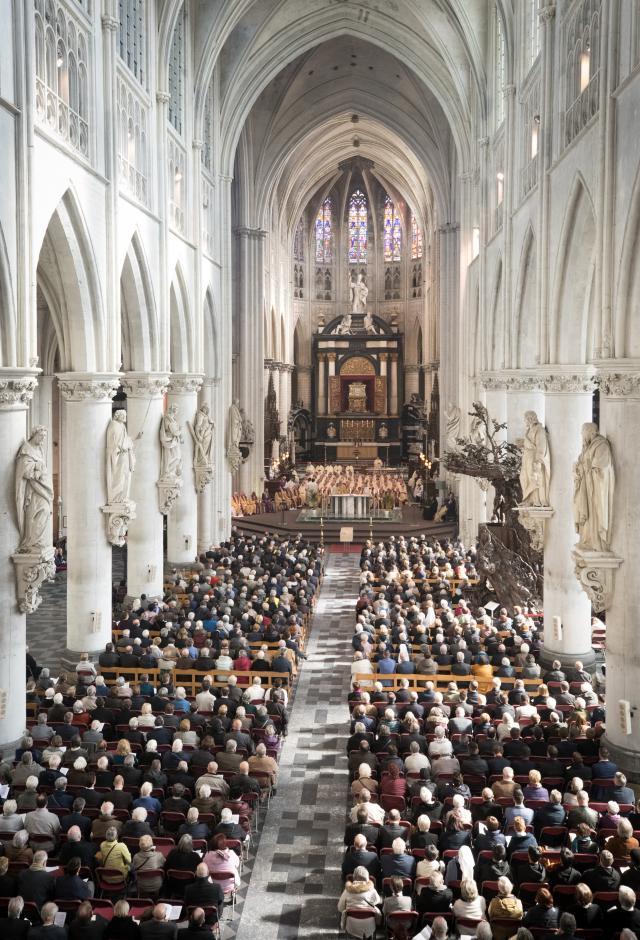 Begrafenis kardinaal Danneels - foto Belga DOP